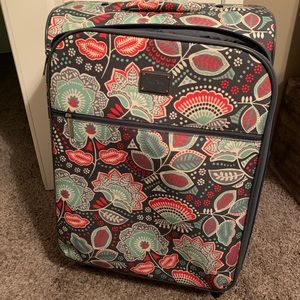 Vera Bradley suitcase